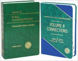 ASD Manual of Steel Construction 2 Volume Set Books