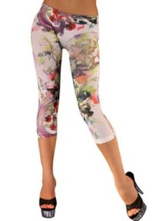 """Amour Patriotic Sexy Colorful Prints Fashion Leggings Tights Pants Jegging (""""A Muscle Print"""") Clothing"""