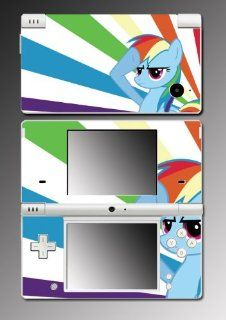My Little Pony MLP Rainbow Dash Pegasus Friendship is Magic Video Game Viny Decal SKIN Cover for Nintendo DSi: Video Games