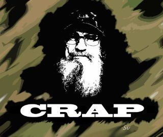 Duck Dynasty Uncle Si Crap Mouse Pad: Office Products