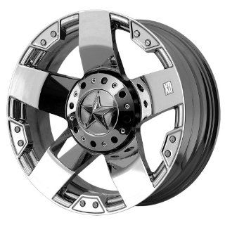 20x10 KMC XD Rockstar (Chrome) Wheels/Rims 5x139.7/150 (XD77521086224N): Automotive