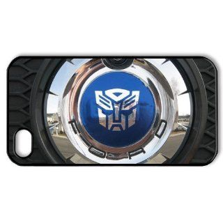 CoverMonster Transformer's Autobots logo iphone 4 4s case, Autobots logo on rubber lyre iphone 4 4s case: Cell Phones & Accessories