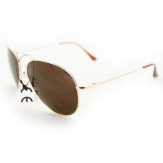 Soul Wireless 387rosegold Fashion Aviator Sunglasses 387 Rose Gold Lightweight Metal Frame Dark Brown Lens Shoes