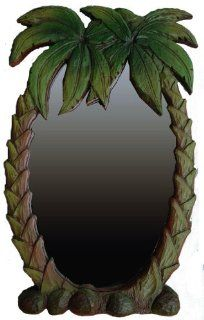 Palm Tree Tropical Mirror #389   Wall Mounted Mirrors