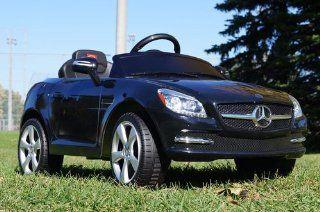 LICENSED Mercedes Benz SLK 81200 Baby Kids Ride on Power Wheels Toy Car Remote Control: Patio, Lawn & Garden