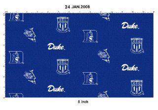 DUKE BLUE DEVILS COTTON FABRIC 100% COTTON DUKE COTTON FABRIC SOLD BY THE YARD