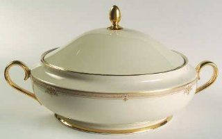 Lenox China Republic 1999 Shape Round Covered Vegetable, Fine China Dinnerware: Kitchen & Dining