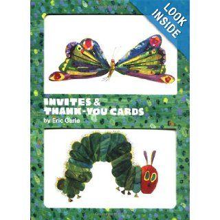 Eric Carle Invites & Thank You Cards Eric Carle 9780811856898 Books