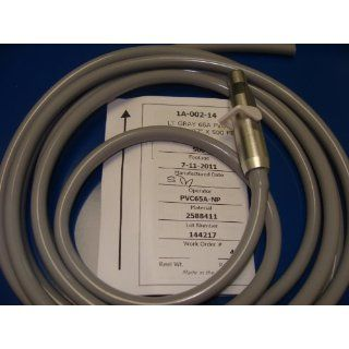"Dental Saliva Ejector Tubing Suction Hose Gray 3/16"" & Valve 10 Feet Tubing Made In Usa ANGELUS Industrial & Scientific"