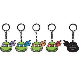 Key Chain   Teenage Mutant Ninja Turtles (TMNT)   Group of Four Toys & Games