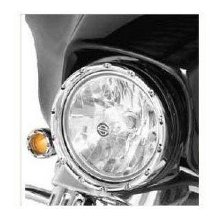 "Arlen Ness 08 408 LED 'Fire Ring' Running Light For Harley Davidson Softail 7"" Factory Headlights Automotive"