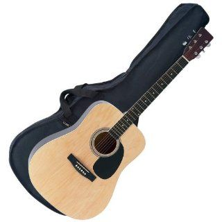 "6 Of Best Quality 41"" Acoustic Guitar W / Bag By Maxam&trade 41&quot Acoustic Guitar with Bag &amp Strap : Other Products : Everything Else"