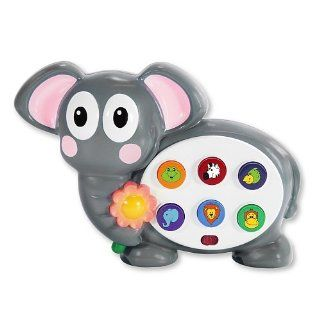 Early Learning Colors and Shapes Safari Elephant: Toys & Games