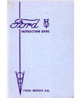 1935 FORD V 8 V8 Car Owners Manual User Guide Automotive