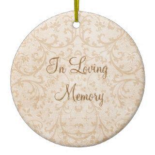 In Loving Memory Personalized Photo Memorial Ornaments