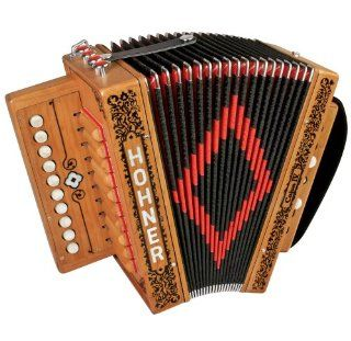 Hohner Accordions CAJUN IV 10 Key Accordion: Musical Instruments