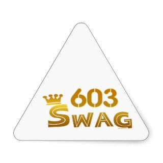 603 New Hampshire Swag Sticker