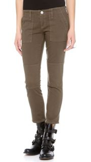 True Religion Joyce Mid Rise Military Skinny Jeans