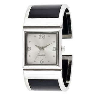 Black Hills Gold Tricolor Black Powder Coated Square Face Watch   Jewelry   Watches   Ladies