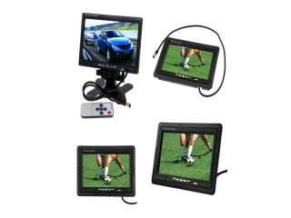 """2013 7"""" TFT LCD Color Car Rear view Monitor For DVD VCR Camera+Remote Control"""