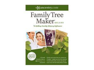 Nova Development Family Tree Maker 2012 Deluxe  Software