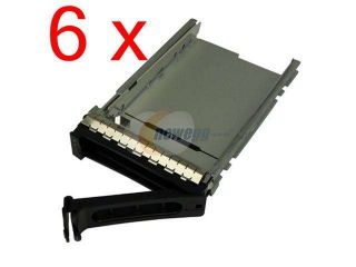 "6 pcs 3.5"" DELL Original G9146 MF666 F9541 NF467 H9122 Hard Drive Caddy for Dell Poweredge 1900 1950 2900 2950 2970 6900 6950 R200 R300 R905"