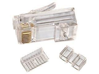 Ideal 85 366 CAT 6 RJ 45 Modular Plugs (Quantity of 1 = Pack of 25)