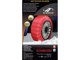 Size 66   Heininger Standard Snow Donuts   Chainless Tire Chains winter driving