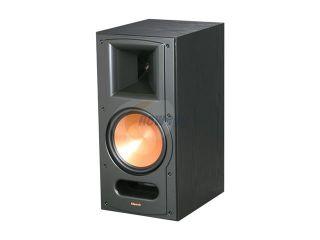 Klipsch Reference RB 81 II B Bookshelf Speaker, Black Ash Wood Grain Vinyl Single