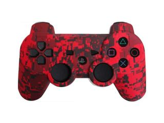 Custom PS3 Controller   Red Urban PlayStation 3 Controller