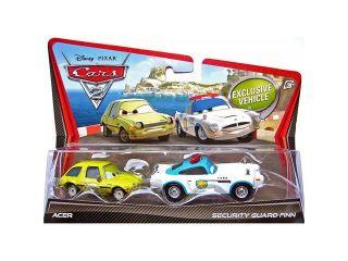 Disney Pixar CARS 2 Movie 155 Die Cast Car 2Pack Security Guard Finn McMissile Acer