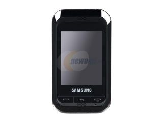 Samsung Champ Black Unlocked GSM Touch Screen Phone with Stylus Pen (C3303K)