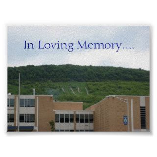 the 44, In Loving Memory.  Customized Posters