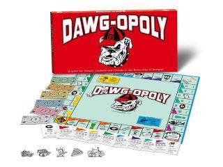 DAWGOPOLY   Georgia Bulldogs Board Game