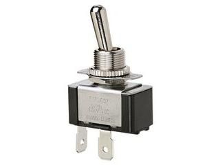 """Ideal 774010 Toggle Switch Single Pole, Single Throw, On Off, """"O"""" Ring & Screw"""