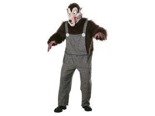 Scary Big Bad Wolf Animal Costume   Animal Costumes