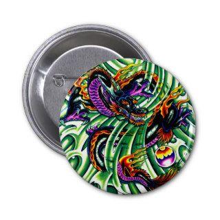 Japanese Dragon Tattoo Pin