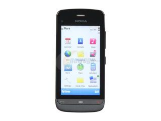 "Nokia  Graphite Black Unlocked GSM Smart Phone with Wi Fi / 3.2"" Touch Screen / GPS Receiver / 5.0 MP Camera (C5 03)"