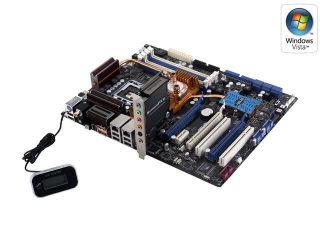ASUS Striker II Extreme LGA 775 NVIDIA nForce 790i Ultra SLI ATX Intel Motherboard