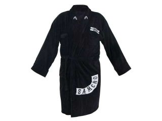 Sons of Anarchy SAMCRO Logo Bathrobe, Adult