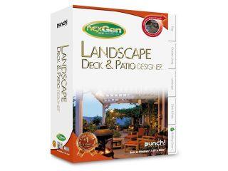 Punch! Software Landscape Deck & Patio Designer  Software
