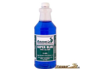 Super Blue Tire Shine Dressing Professional High Gloss Long Lasting Tire Protectant