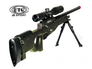 UTG Airsoft Master Sniper Scope, 4X32 Full Size W/Flip Open Lens Cover