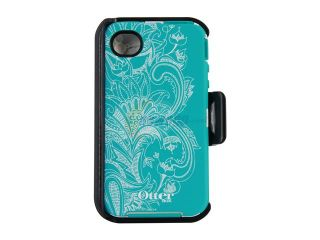 OtterBox Defender Teal / White Celestial Case For iPhone 4/4S 77 20407