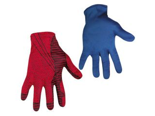Mens Spiderman Costume Gloves   Spiderman Costumes