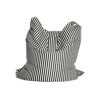 Bull Designs LLC THE BULL Large Fashion Bean Bag Chair   Black & White   111 BNW