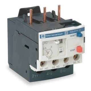 SCHNEIDER ELECTRIC Overload Relay, Trip Class: 10, Current Range: 16.0 to 24.0A, Number of Poles: 3   IEC Overload Relays   3EA12|LRD22