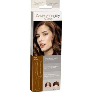 IRENE GARI Cover Your Gray Color Comb for Women Dark Brown