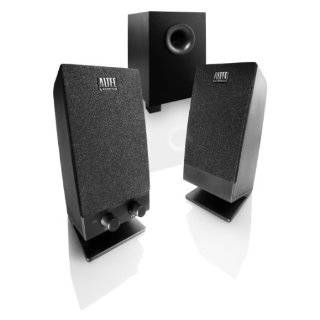 Altec Lansing Stereo Speaker System with Subwoofer for Laptops