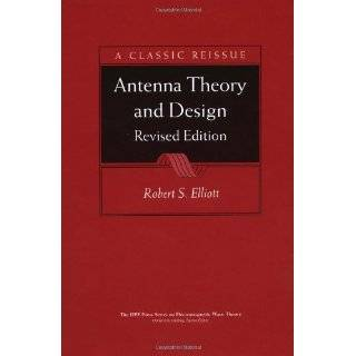 Microwave Antenna Theory and Design (IEEE Electromagnetic Waves Series